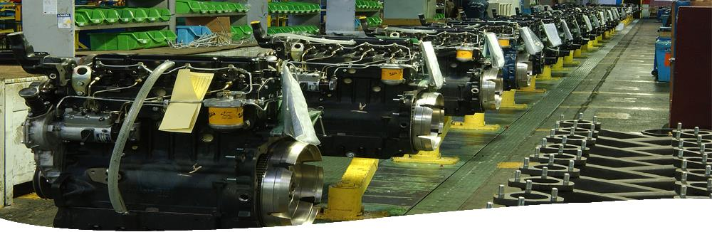 Types of Company Manufacturing Engines With Different Applications